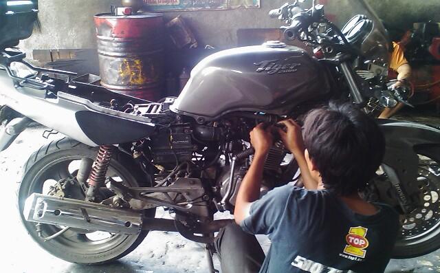 Tips Merawat Sepeda Motor 4 Tak