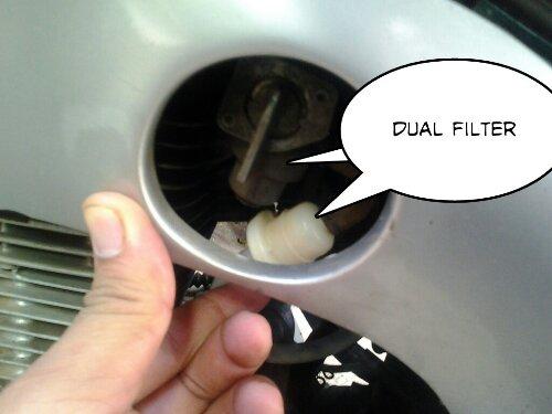 tips ringan filter bensin tambahan ga ada salahnya
