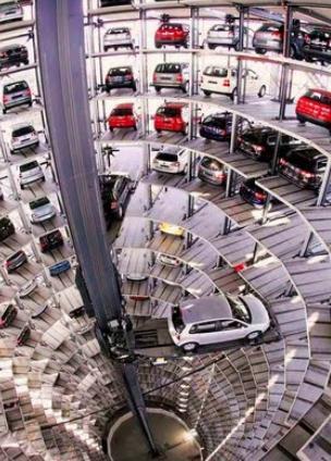 parkir modern