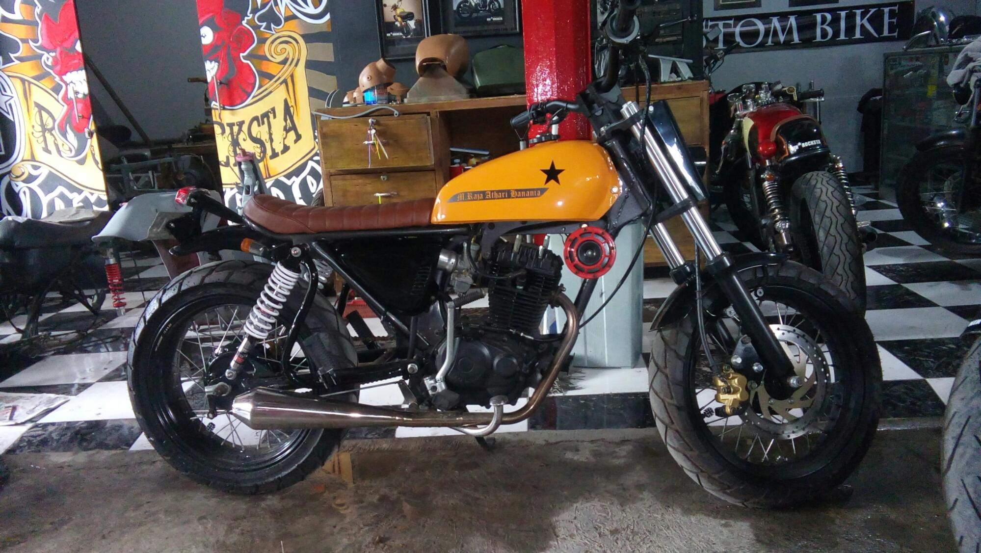 Download 92 Bengkel Modifikasi Motor Cb Di Jakarta Terbaru Fire Modif