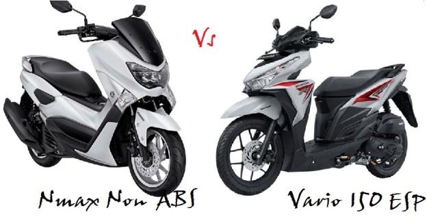 NMAX Non ABS VS Vario 150 eSP ACC
